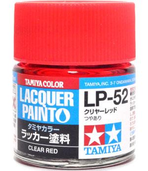 LP-52 クリヤーレッド塗料(タミヤタミヤ ラッカー塗料No.LP-052)商品画像