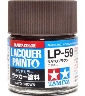 LP-59 NATOブラウン塗料(タミヤタミヤ ラッカー塗料No.LP-059)商品画像