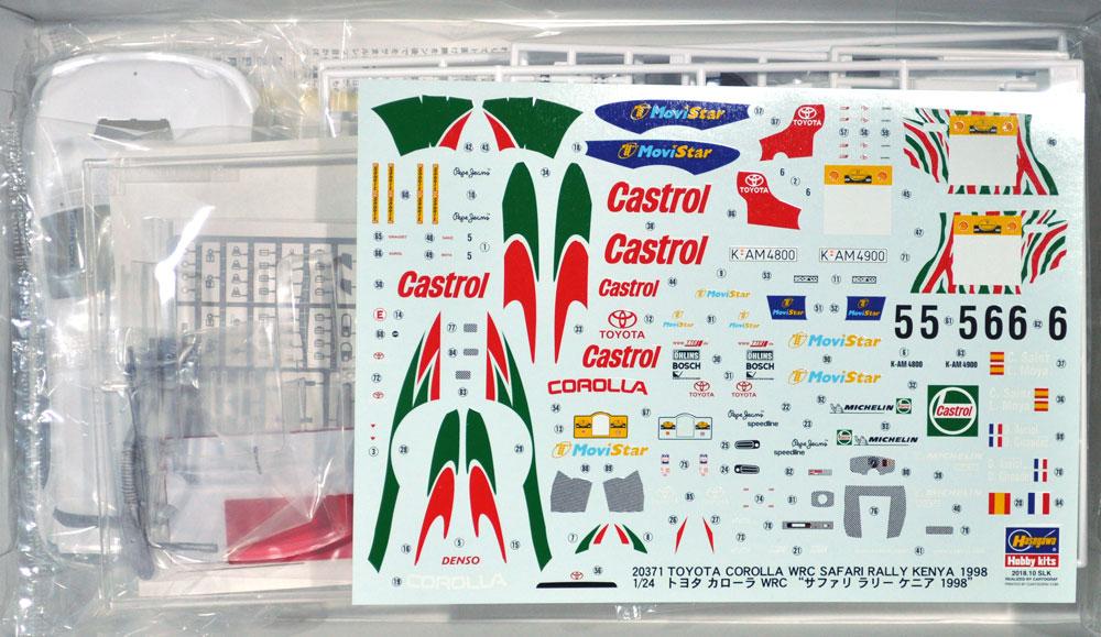 トヨタ カローラ WRC サファリラリー ケニア 1998プラモデル(ハセガワ1/24 自動車 限定生産No.20371)商品画像_1