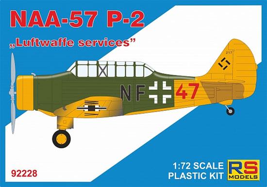 ノースアメリカン NAA-57 P-2 ドイツ空軍プラモデル(RSモデル1/72 エアクラフト プラモデルNo.92228)商品画像