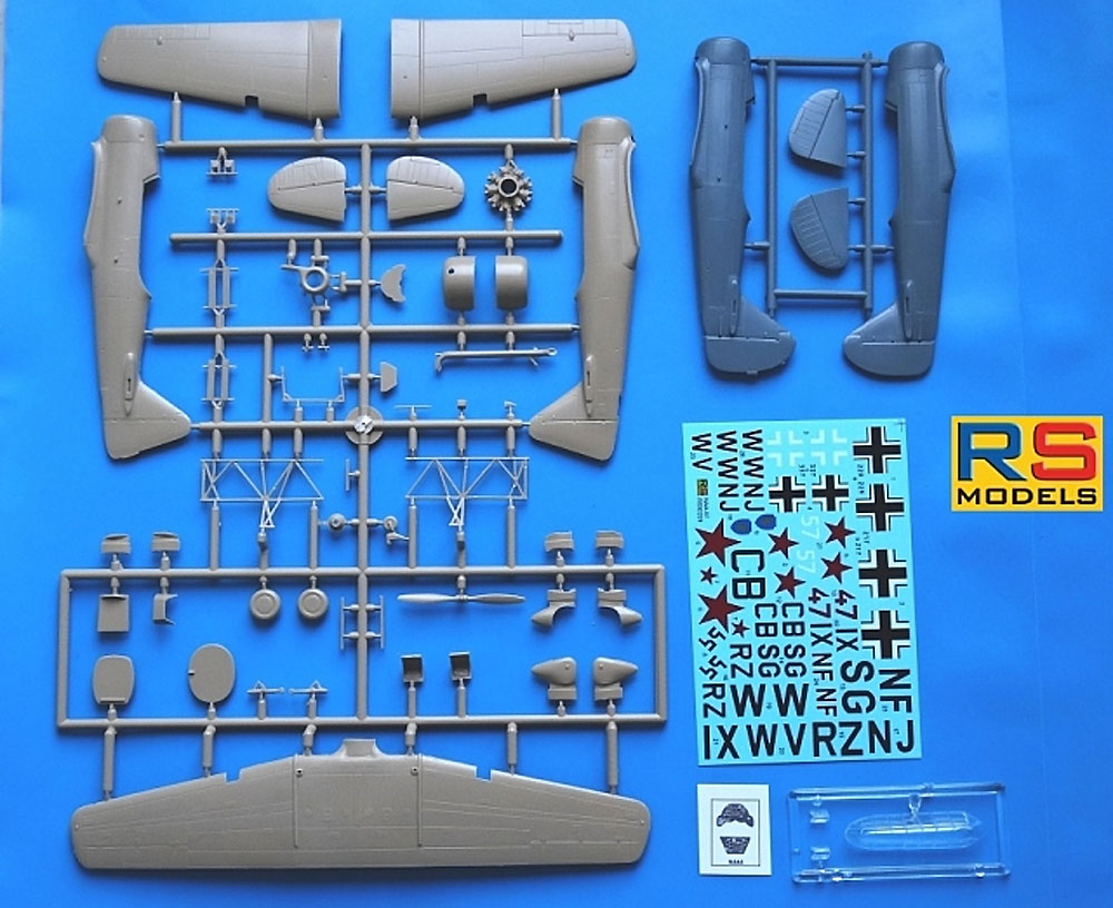 ノースアメリカン NAA-57 P-2 ドイツ空軍プラモデル(RSモデル1/72 エアクラフト プラモデルNo.92228)商品画像_1