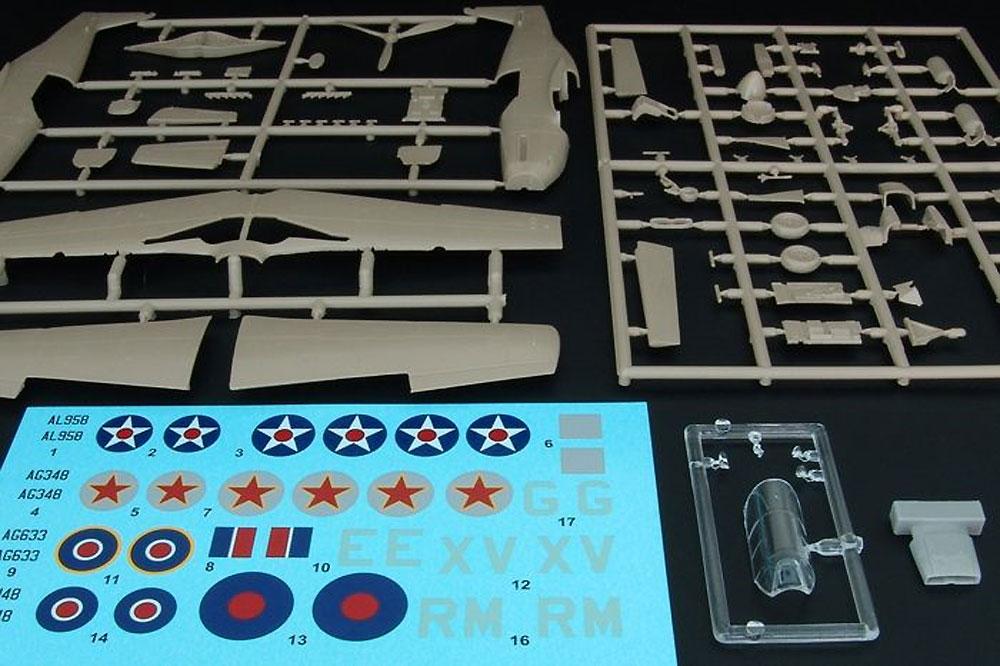 ノースアメリカン マスタング 1プラモデル(ブレンガン1/72 Plastic kitsNo.BRP72031)商品画像_1