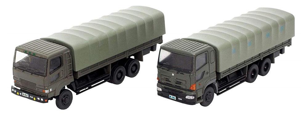 自衛隊 特大型 トラックセットミニカー(トミーテックザ・トラックコレクションNo.29218)商品画像_1