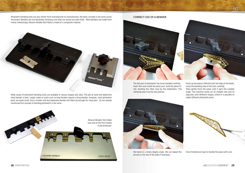 エッチングパーツ コンプリートガイド本(モデルアートAKラーニングシリーズNo.007)商品画像_4
