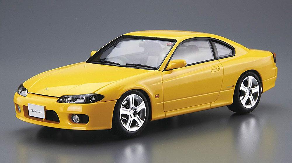 ニッサン S15 シルビア Spec.R '99プラモデル(アオシマ1/24 ザ・モデルカーNo.099)商品画像_2