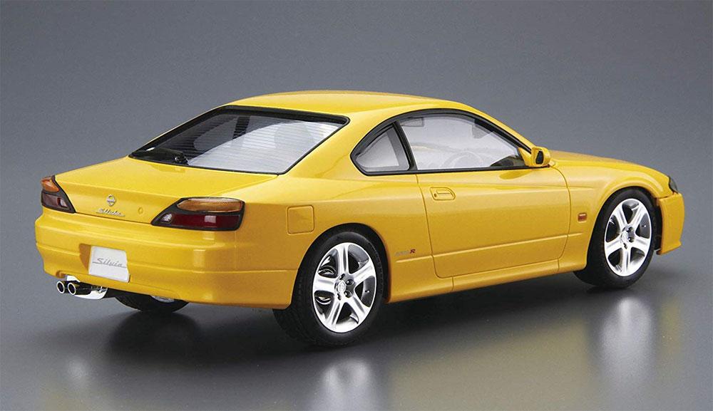 ニッサン S15 シルビア Spec.R '99プラモデル(アオシマ1/24 ザ・モデルカーNo.099)商品画像_3