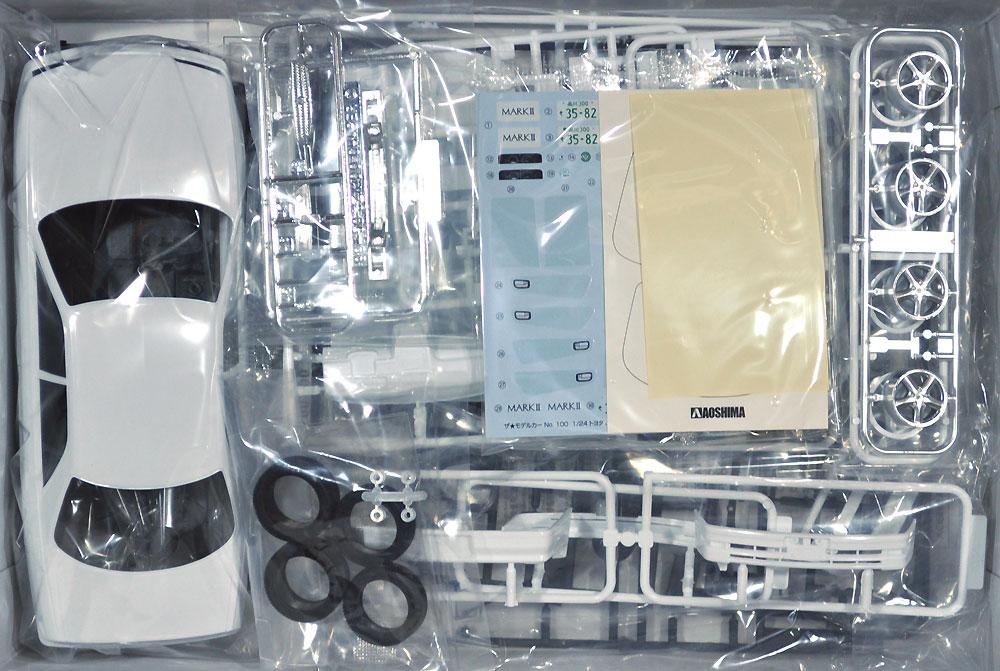 トヨタ JZX100 マーク 2 ツアラーV '00プラモデル(アオシマ1/24 ザ・モデルカーNo.100)商品画像_1