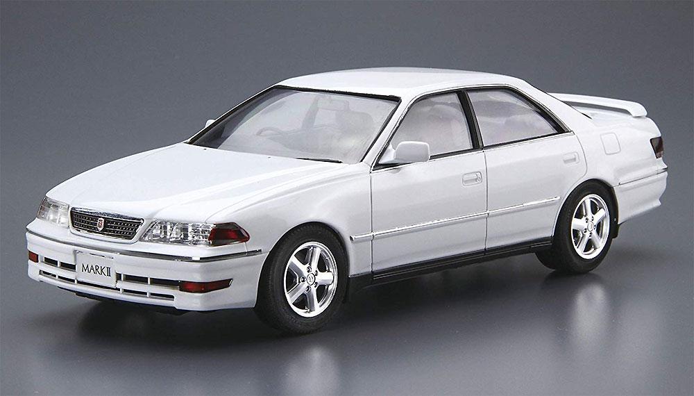 トヨタ JZX100 マーク 2 ツアラーV '00プラモデル(アオシマ1/24 ザ・モデルカーNo.100)商品画像_2