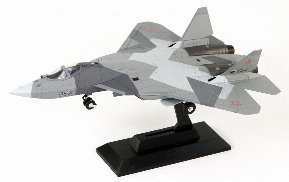 ロシア空軍 戦闘機 Su-57プラモデル(ピットロードSN 航空機 プラモデルNo.SN021)商品画像_3