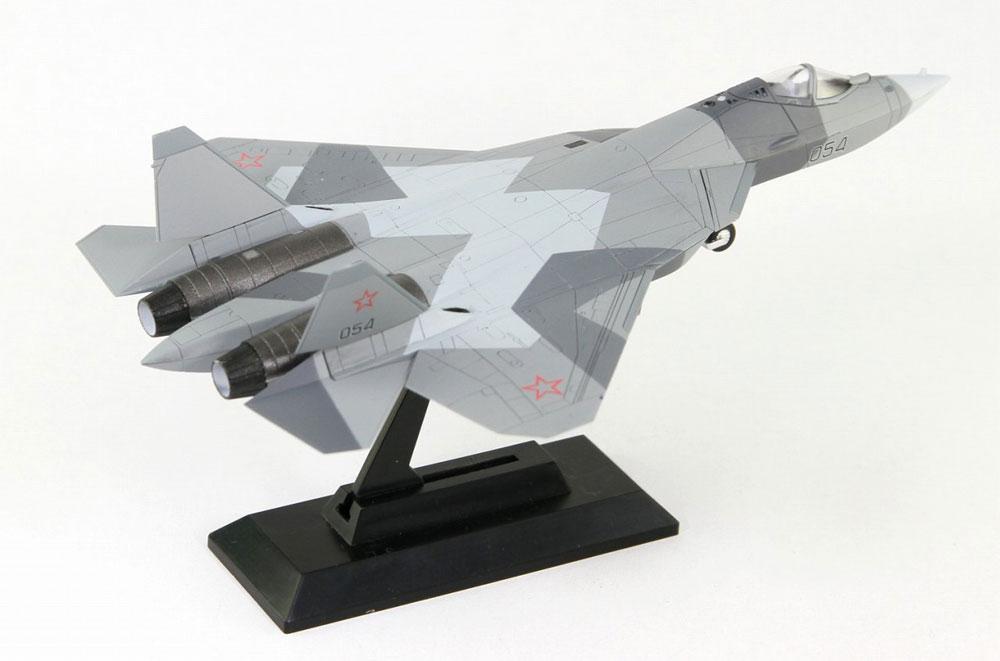 ロシア空軍 戦闘機 Su-57プラモデル(ピットロードSN 航空機 プラモデルNo.SN021)商品画像_4