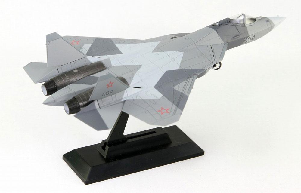 ロシア空軍 戦闘機 Su-57完成品(ピットロードコンプリート エアクラフト シリーズ (塗装済み完成品)No.SNM-015)商品画像_2