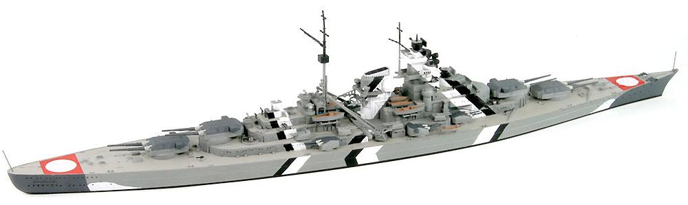 ドイツ海軍 ビスマルク級戦艦 ビスマルクプラモデル(ピットロード1/700 スカイウェーブ W シリーズNo.W192)商品画像_4