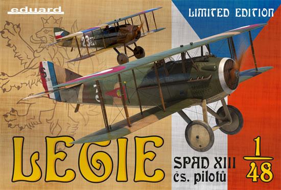 スパッド 13 チェコスロバキア人パイロットプラモデル(エデュアルド1/48 リミテッドエディションNo.11123)商品画像