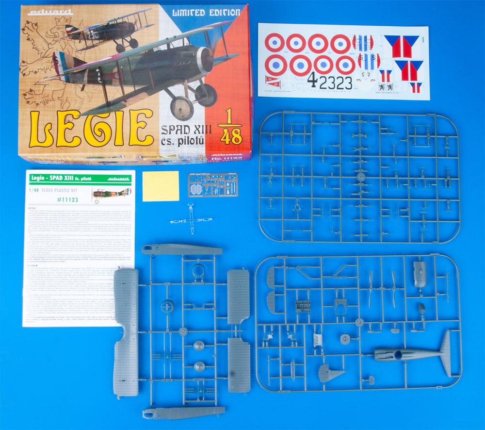 スパッド 13 チェコスロバキア人パイロットプラモデル(エデュアルド1/48 リミテッドエディションNo.11123)商品画像_1