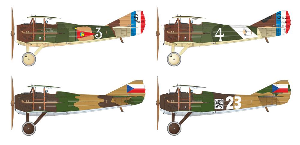 スパッド 13 チェコスロバキア人パイロットプラモデル(エデュアルド1/48 リミテッドエディションNo.11123)商品画像_2
