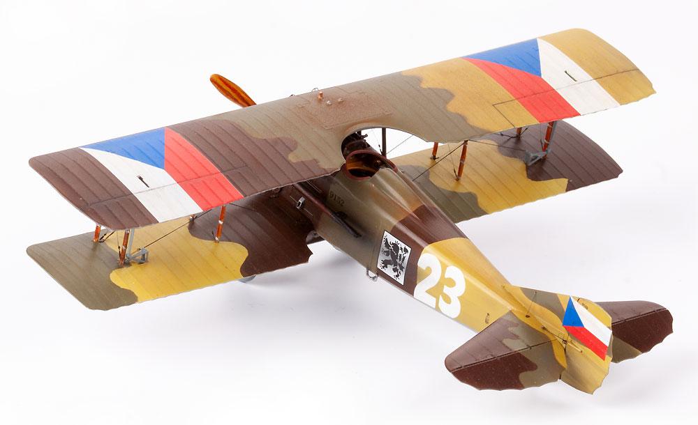 スパッド 13 チェコスロバキア人パイロットプラモデル(エデュアルド1/48 リミテッドエディションNo.11123)商品画像_4