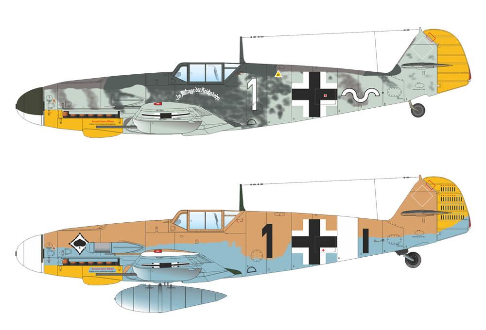 メッサーシュミット Bf109G-4プラモデル(エデュアルド1/48 ウィークエンド エディションNo.84149)商品画像_2