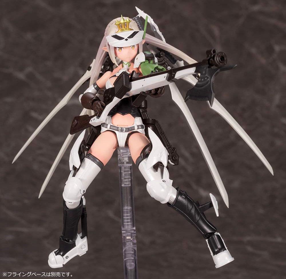 武装神姫 猟兵型 エーデルワイスプラモデル(コトブキヤメガミデバイスNo.B001)商品画像_1