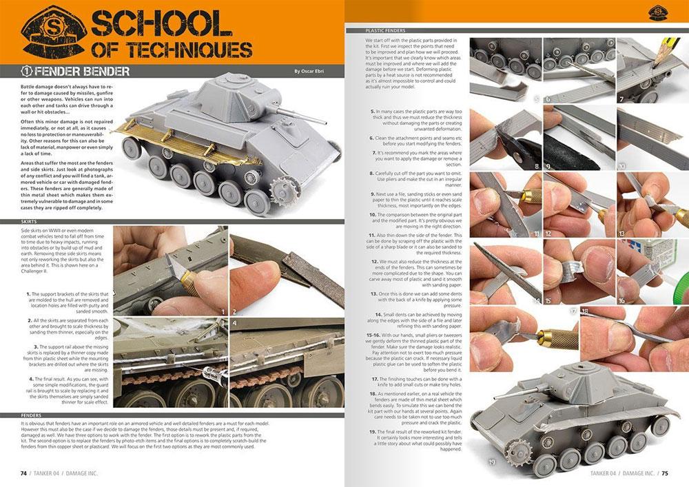 テクニックマガジン タンカー 04 究極のダメージ表現を追求する本(モデルアートテクニックマガジン タンカーNo.004)商品画像_4