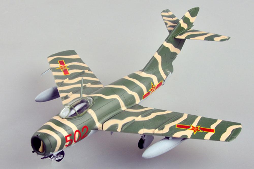 MiG-15bis 中国空軍完成品(イージーモデル1/72 ウイングド エース (Winged Ace)No.37133)商品画像_1