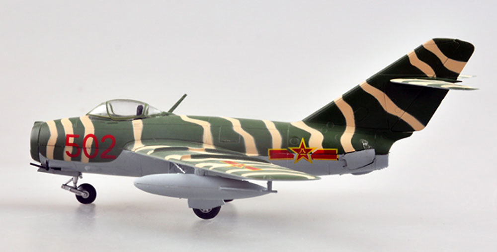 MiG-15bis 中国空軍完成品(イージーモデル1/72 ウイングド エース (Winged Ace)No.37133)商品画像_2