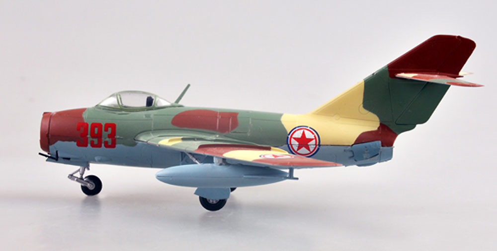 MiG-15bis 北朝鮮空軍完成品(イージーモデル1/72 ウイングド エース (Winged Ace)No.37134)商品画像_2