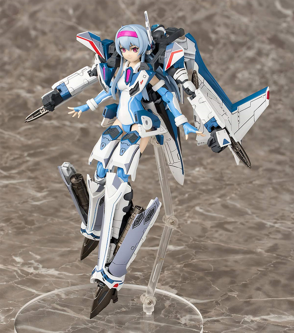 ヴァリアブルファイターガールズ マクロスΔ VF-31J ジークフリード Ver.1.3プラモデル(アオシマACKS (アオシマ キャラクターキット セレクション)No.MC-004)商品画像_1