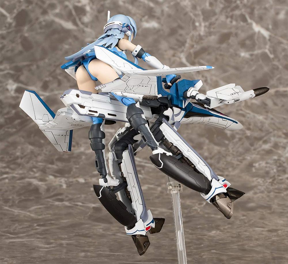 ヴァリアブルファイターガールズ マクロスΔ VF-31J ジークフリード Ver.1.3プラモデル(アオシマACKS (アオシマ キャラクターキット セレクション)No.MC-004)商品画像_4