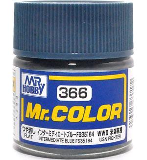 インターミディエートブルー FS35164 (つや消し)塗料(GSIクレオスMr.カラーNo.C-366)商品画像