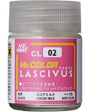 ココアミルク (CL02)塗料(GSIクレオスMr.カラー ラスキウスNo.CL002)商品画像