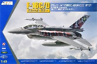 キネティック1/48 エアクラフト プラモデルF-16C/D ブロック52プラス ポーランド空軍 アドバンスドバイパー