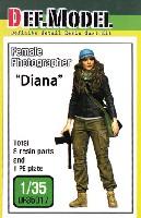 女性カメラマン ダイアナ