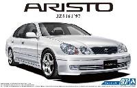 アオシマ1/24 ザ・モデルカートヨタ JZS161 アリスト V300 ベルテックスエディション '97