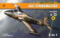 ミニウイング1/144 インジェクションキットBAC ストライクマスター (ニュージーランド サウジアラビア エクアドル)