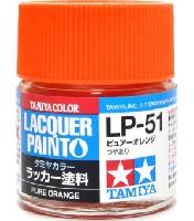 タミヤタミヤ ラッカー塗料LP-51 ピュアーオレンジ