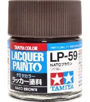 タミヤタミヤ ラッカー塗料LP-59 NATOブラウン