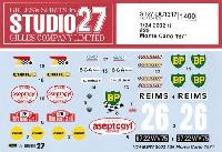 スタジオ27ラリーカー オリジナルデカールBMW 2002 ti #26  モンテカルロラリー 1971 デカール