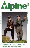 アルパイン1/35 フィギュアWW2 ドイツ SS将校 44-45 (2体セット)