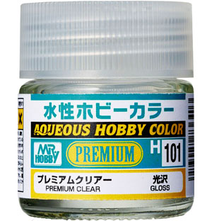 プレミアムクリアー 光沢塗料(GSIクレオス水性ホビーカラーNo.H101)商品画像
