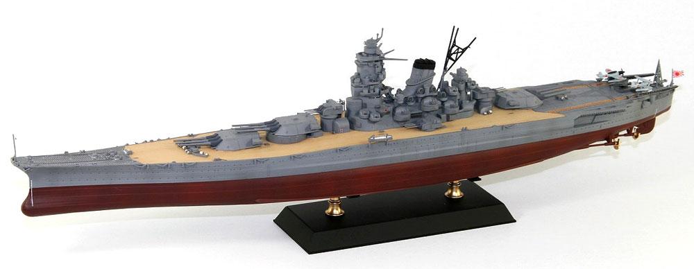 日本海軍 戦艦 大和 就役時プラモデル(ピットロード1/700 スカイウェーブ W シリーズNo.W215)商品画像_3