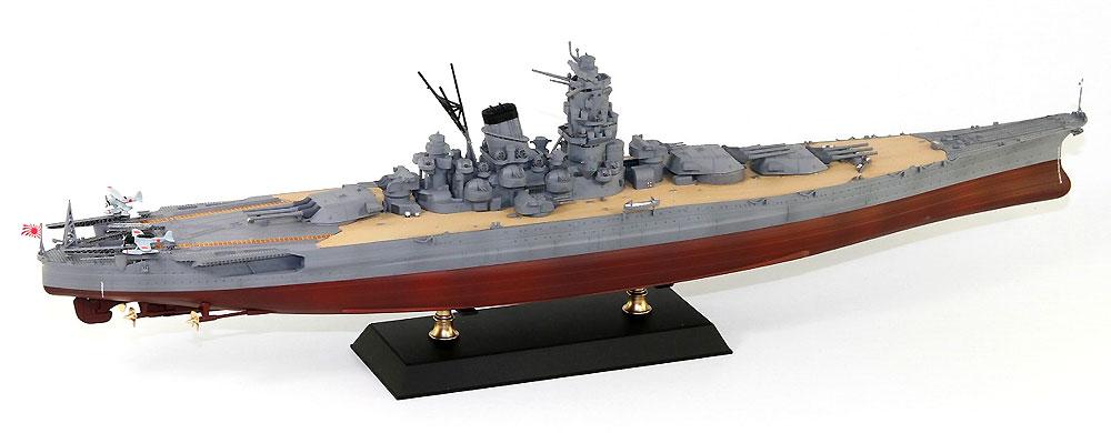 日本海軍 戦艦 大和 就役時プラモデル(ピットロード1/700 スカイウェーブ W シリーズNo.W215)商品画像_4