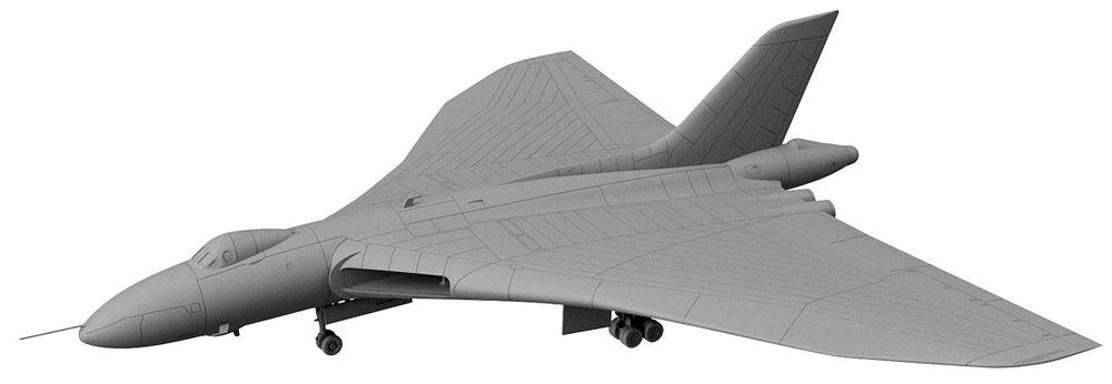 イギリス空軍 戦略爆撃機 バルカン B.2 ブルースチールミサイル付きプラモデル(ピットロードSN 航空機 プラモデルNo.SN022)商品画像_2