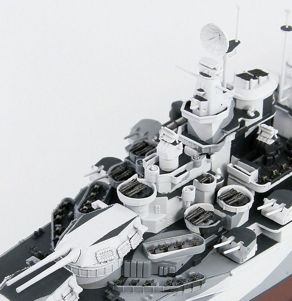 アメリカ海軍 コロラド級戦艦 BB-48 ウエスト ヴァージニア 1945プラモデル(ピットロード1/700 スカイウェーブ W シリーズNo.W204)商品画像_3