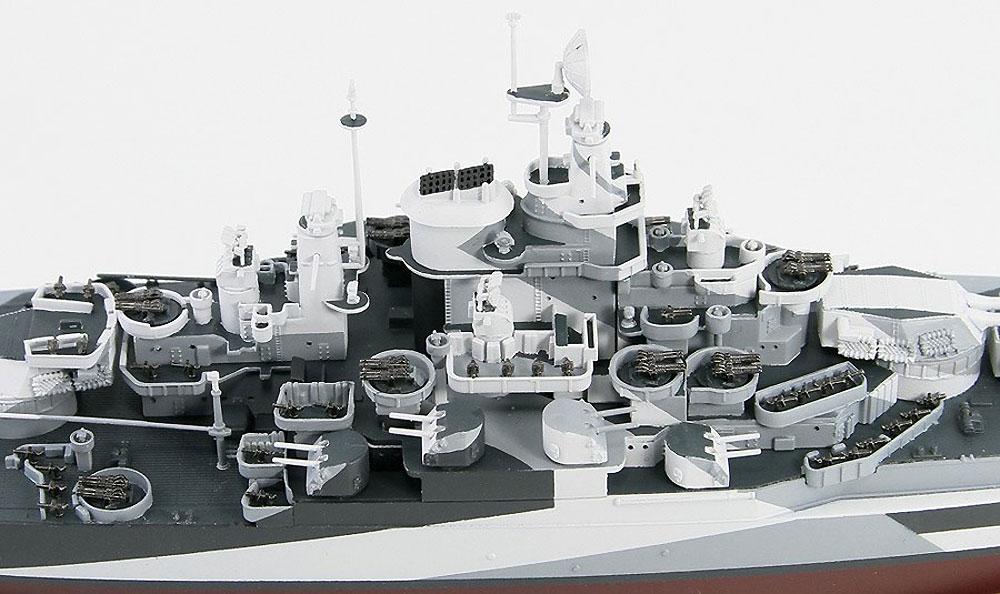 アメリカ海軍 コロラド級戦艦 BB-48 ウエスト ヴァージニア 1945プラモデル(ピットロード1/700 スカイウェーブ W シリーズNo.W204)商品画像_4