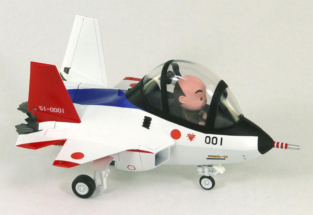 先進技術実証機 X-2プラモデル(グレートウォールホビーデフォルメプレーンNo.LDP001)商品画像_3