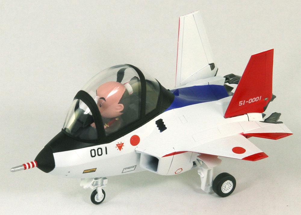 先進技術実証機 X-2プラモデル(グレートウォールホビーデフォルメプレーンNo.LDP001)商品画像_4