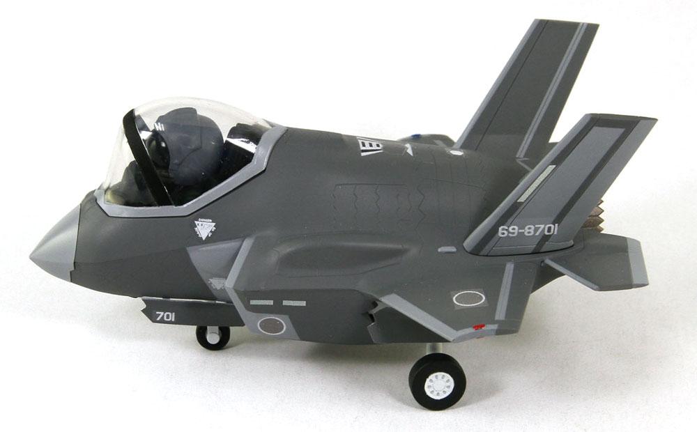 航空自衛隊 戦闘機 F-35Aプラモデル(グレートウォールホビーデフォルメプレーンNo.LDP002)商品画像_4