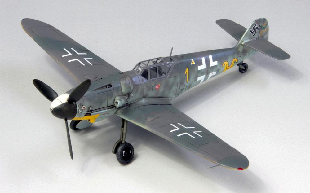 メッサーシュミット Bf109G-6 ハルトマン 1943プラモデル(ファインモールド1/72 航空機No.75998)商品画像_1
