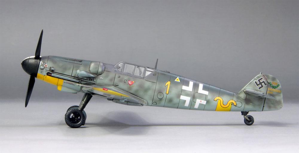 メッサーシュミット Bf109G-6 ハルトマン 1943プラモデル(ファインモールド1/72 航空機No.75998)商品画像_2