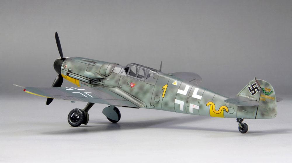 メッサーシュミット Bf109G-6 ハルトマン 1943プラモデル(ファインモールド1/72 航空機No.75998)商品画像_3